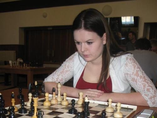 Nejlepší žena turnaje - jana Zpěváková ze Starého Města.
