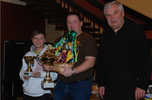 Vítěz Pavel Masák (převzato z oficiálních stránek městyse Sloup)