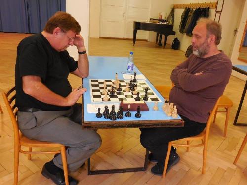 Poslední partie zápasu (foto: Stanislav Vémola)