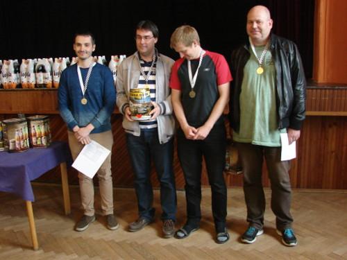 Vítězné družstvo ŠK Duras BVK